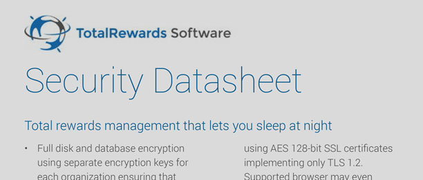 Security Datasheet